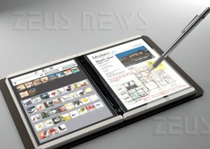 Microsoft Courier Tablet Pc multitouch