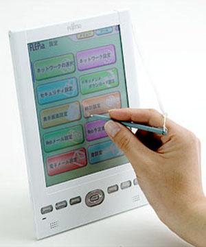 Fujitsu color e-paper nuova generazione Flepia