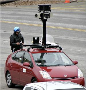 Google consegna dati Street View intercettati