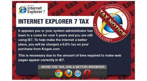 tassa internet explorer 7