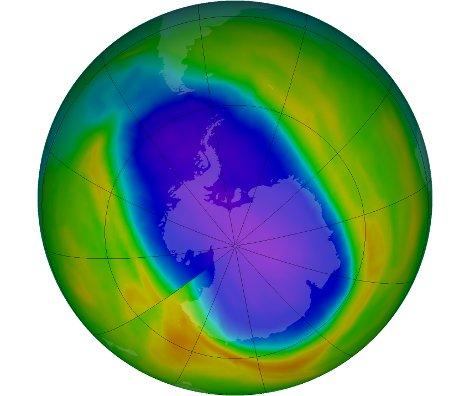 Buco Ozono antartide NASA 26 milioni km2