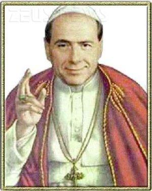 silvio berlusconi papa re sovrano caimano
