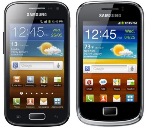 samsung galaxy ace2 galaxy mini2