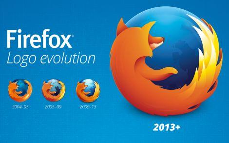 firefox 23 nuovo logo javascript