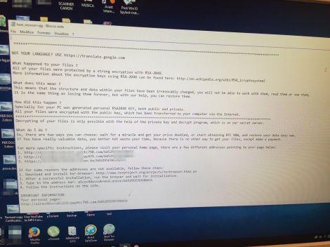 ransomware redacted