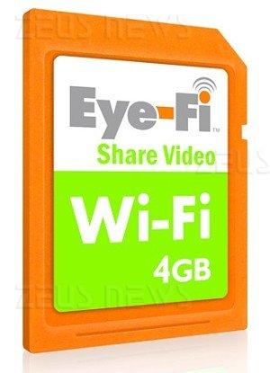 Eye-Fi SD Wireless Wi-Fi in vendita Regno Unito