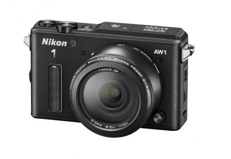 Nikon 1 AW1 10 BK frt34l rid