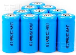 Batteria ricarica 10 secondi LiFePO4