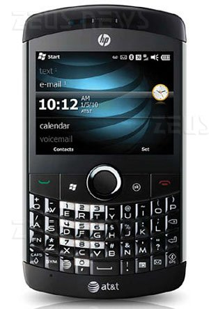 Hp iPaq Glisten smartphone Windows Mobile 6.5
