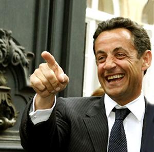 Sarkozy Googlebombing