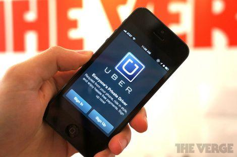 uber app taxi iphone