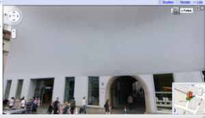 Google Street View lancio uova Germania