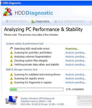 Fake Defrag falso deframmenta hard disk ottimizza