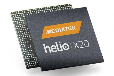 MediaTek Helio X20 10 core mockup