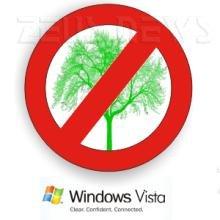 Logo Microsoft contro l'ambiente