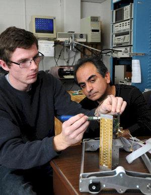 Reza Zoughi videocamera raggi X microonde