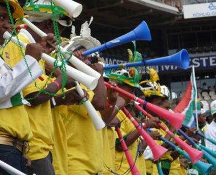 Vuvuzela trombe stadio Mondiali 2010 udito