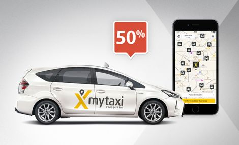 mytaxi milano uber sconto 50