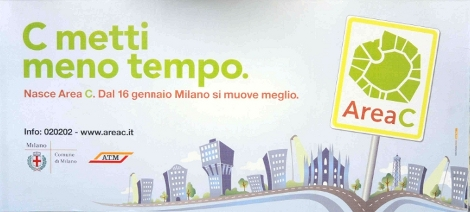 area c milano ticket 5 euro