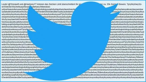 twitter 280 caratteri