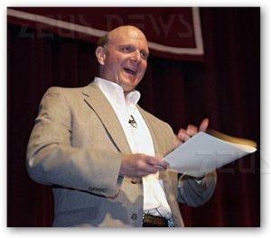 Steve Ballmer Windows Xp Vista 7 aziende