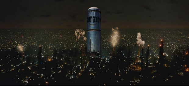amazon tower droni