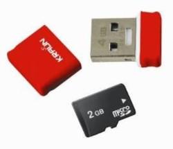 Kraun Mikra Dual USB 4 Gbyte 20 Gbyte microSD