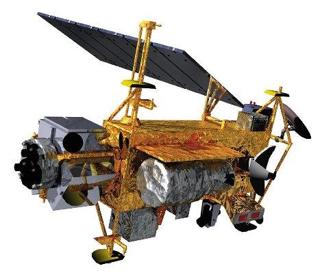 NASA UARS satellite precipita terra italia frammen