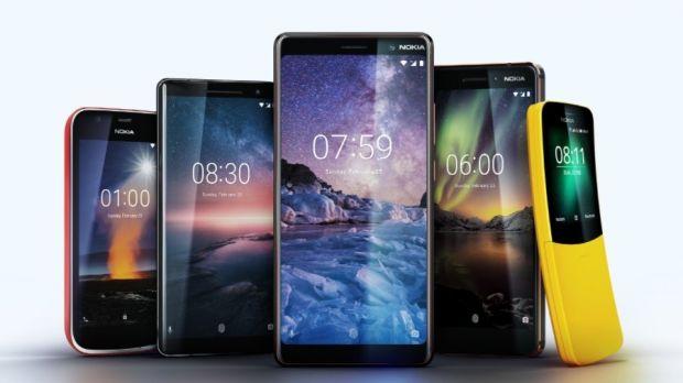 Nokia HMD Global MWC 2018