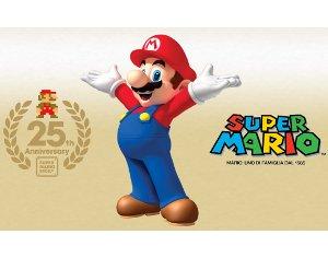 Super Mario compie 25 anni concorso