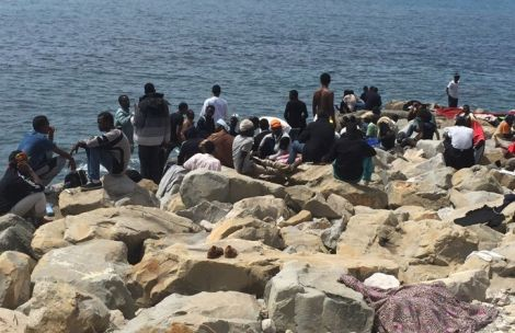 Profughi a Ventimiglia