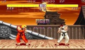 Il noto picchiaduro Street Fighter II di Capcom
