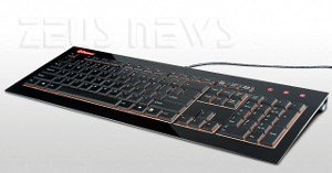Enermax Acrylux tastiera slim Aurora
