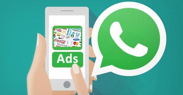 WhatsApp conferma pubblicita spot banner