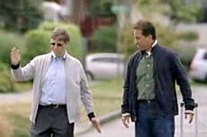 Bill Gates Jerry Seinfeld basta spot Microsoft