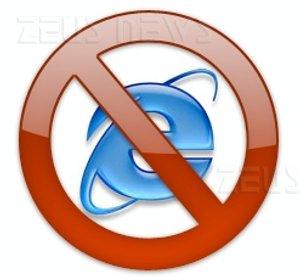 Disabilitare Internet Explorer in Windows 7 modula