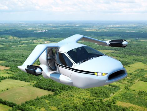 terrafugia flying autonomous car