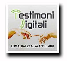 Testimoni digitali chiesa italiana