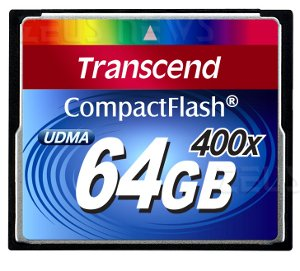 Transcend Compact Flash 64 Gbyte 400x