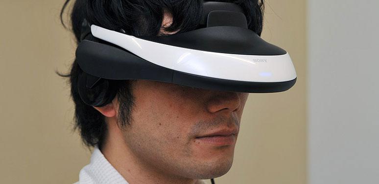 Sony visore 3D HMZ-T1 IFA 2011