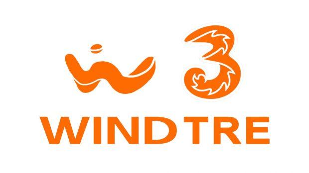 wind tre nuovo logo