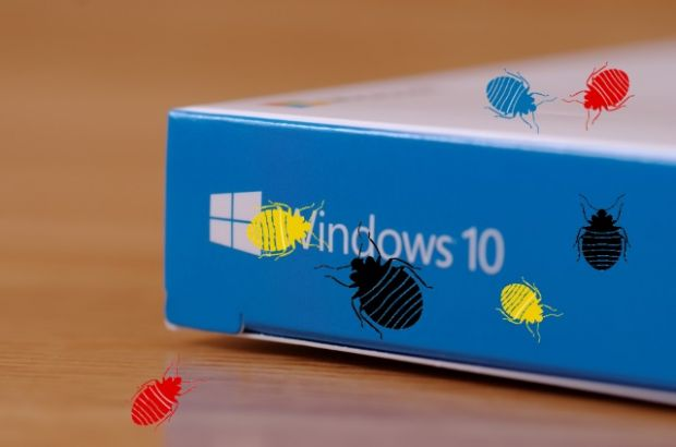 windows 10 april update bug