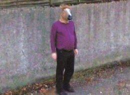 Street View horseboy uomo testa cavallo