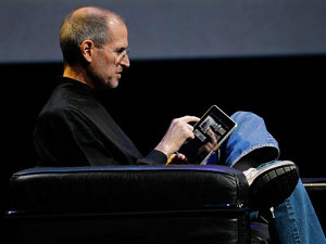 Steve Jobs Rupert Murdoch The Daily iPad