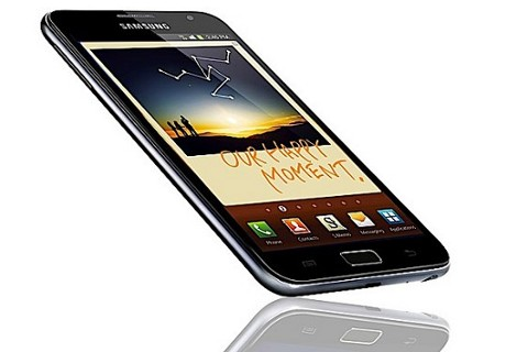 Samsung Galaxy Note benchmark 715 euro