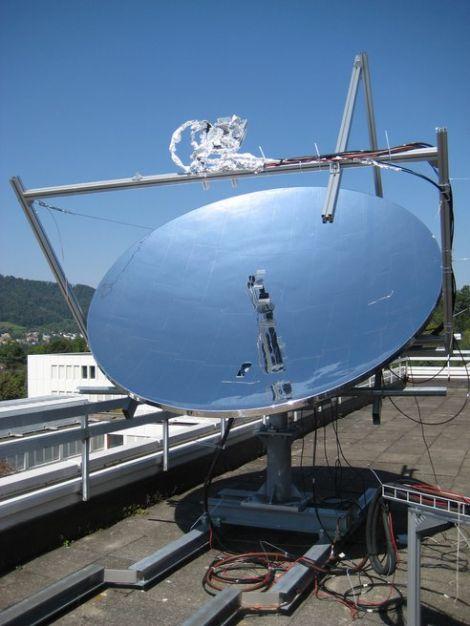 IBM solar concentrator