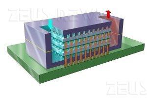 Il chip tridimensionale di Ibm raffreddato ad acqu