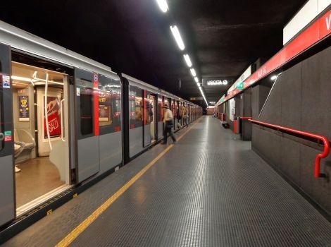 Milano metropolitana Villa San Giovanni