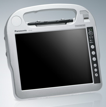 fully rugged toughbook CF-H2 panasonic tablet