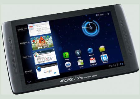 ARCHOS 70b internet tablet m2